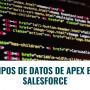 Tipos de Datos de Apex en Salesforce