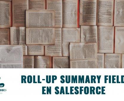 Roll up summary field