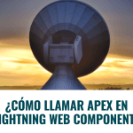 ¿Cómo Llamar Apex en Lightning Web Component?